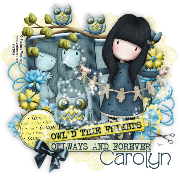 Carolyn's July - September Pick Up Thread Carolyn-2018owldtimefriends