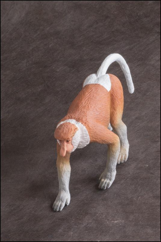 The MOJÖ FUN Proboscis monkey: A walkaround by Kikimalou Proboscismonkey_MOJO-21.jpg_original