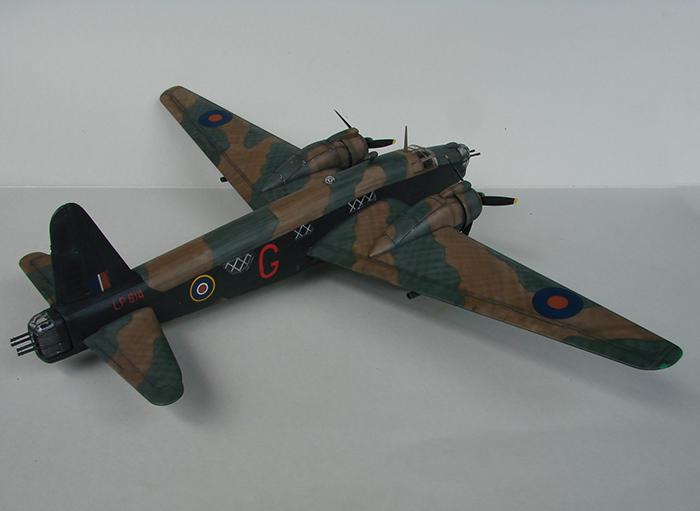 Vickers Wellington Mk.X, Revell, 1/72 DSC04676