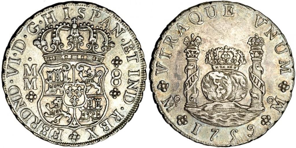Cantos de los reales de a 8 tipo columnario. - Página 2 8_Reales_1759_Mexico_MM_Ligera_p_tina_EBC