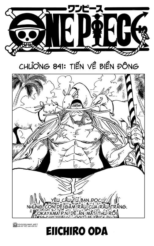 One Piece Chapter 841: Tiến về biển Đông. 01_copy