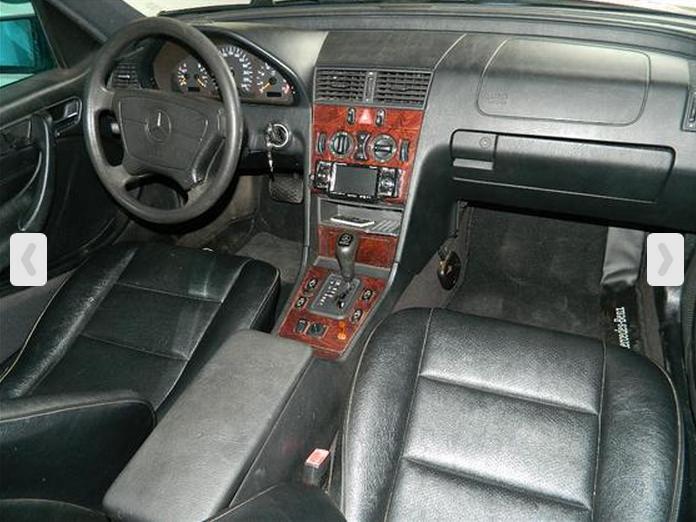 W202 C180 1998 - R$ 35.000,00 C180b