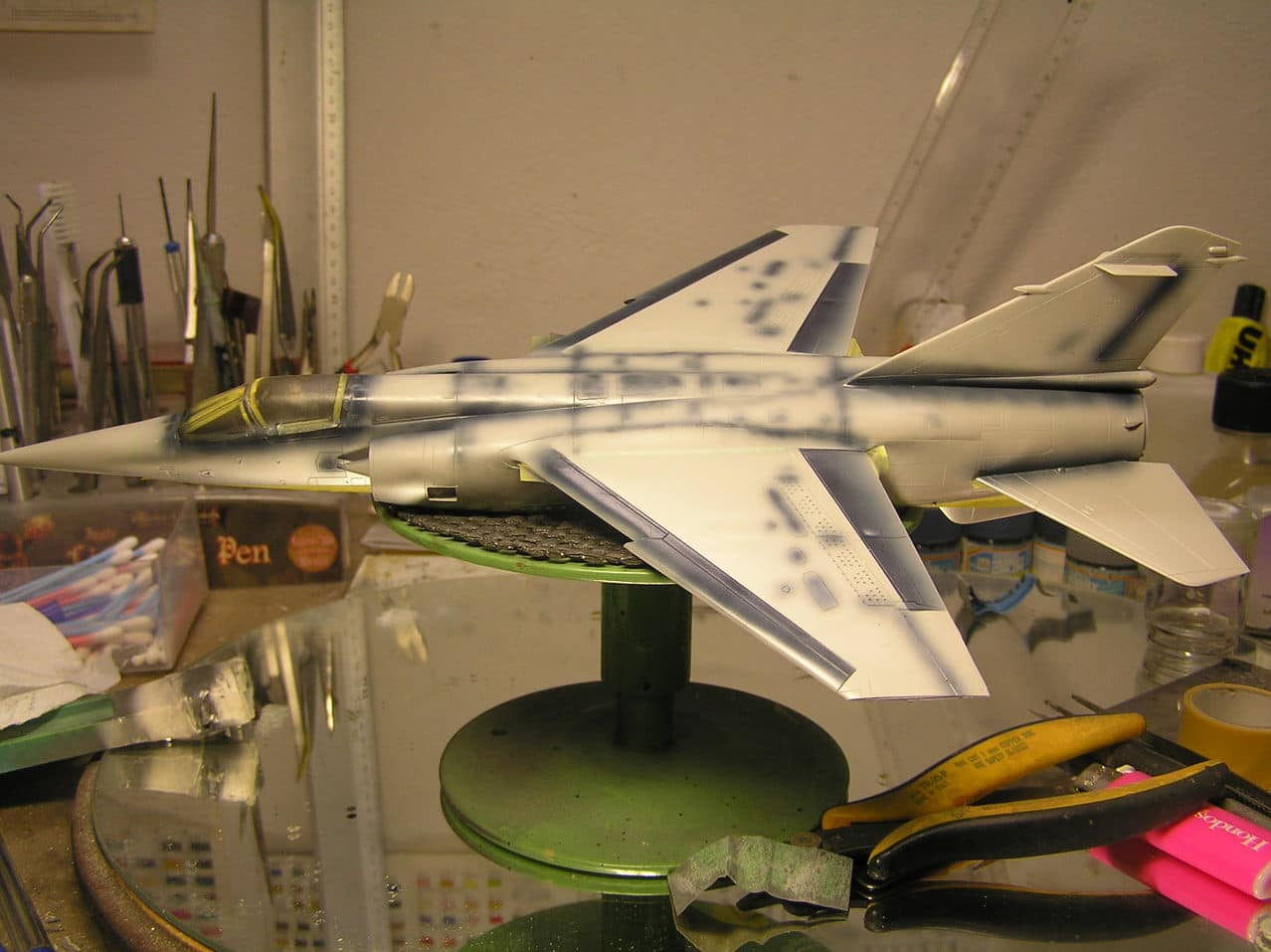 Ελληνικό Mirage F-1CG  1/48  P1010003