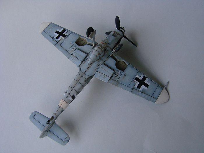 Messerschmitt Bf-109G-6, Airfix, 1/72 DSC05057