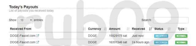 FAUCET - DOGE-FAUCET.COM Pago_faucet_doge