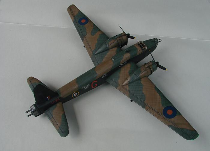 Vickers Wellington Mk.X, Revell, 1/72 DSC04670