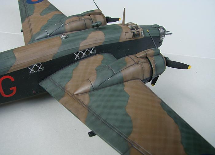 Vickers Wellington Mk.X, Revell, 1/72 DSC04677