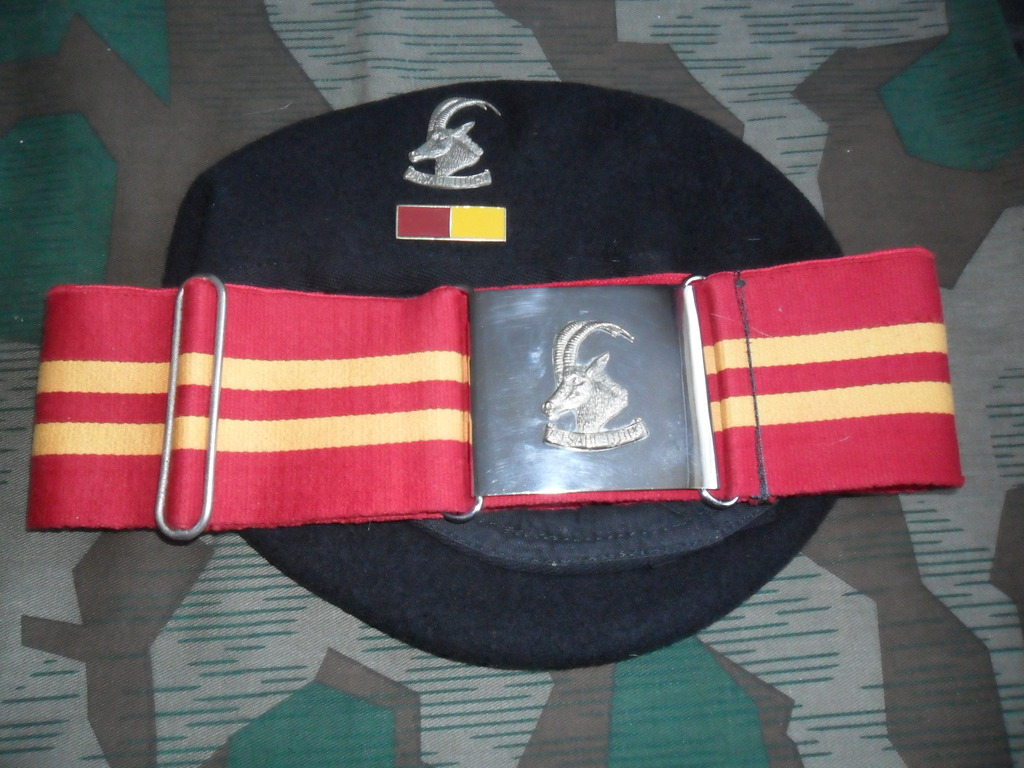 Rhodesian Belts and Berets Armoured_Car_Regt_Or