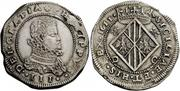 Escudo Messina (Sicilia) 1611 Escudo_o_10_tari_Felipe_III_Messina_1611_D_C_31_58_g
