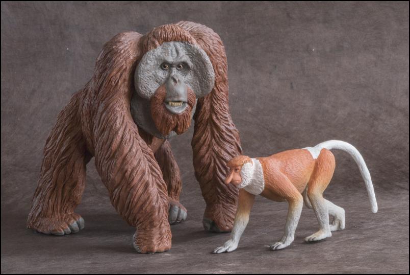 The MOJÖ FUN Proboscis monkey: A walkaround by Kikimalou Proboscismonkey_MOJO-28.jpg_original