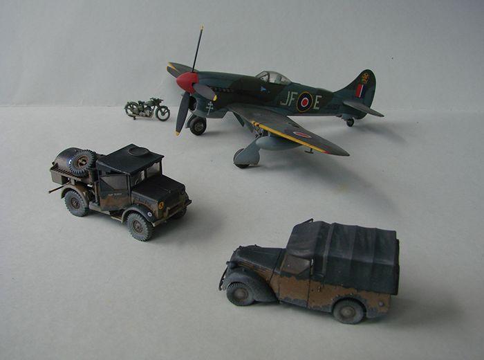 RAF Wehicle Set, 1/72, Airfix DSC04909