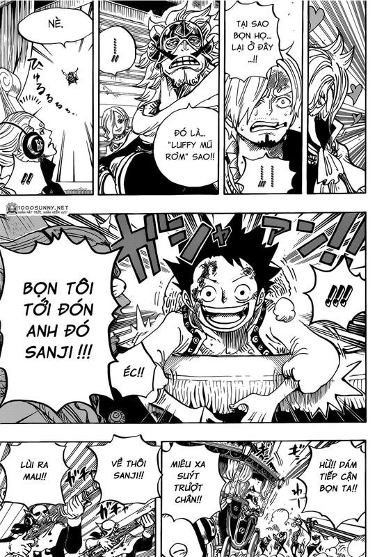 One Piece Chapter 843: Vinsmoke Sanji 014