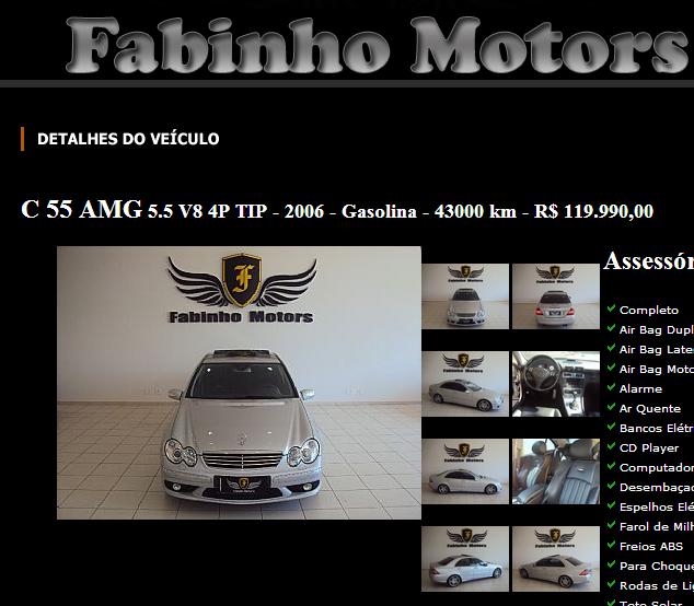 W203 C55 AMG 2006 - R$ 99.990,00 (VENDIDA) Screenshot_147