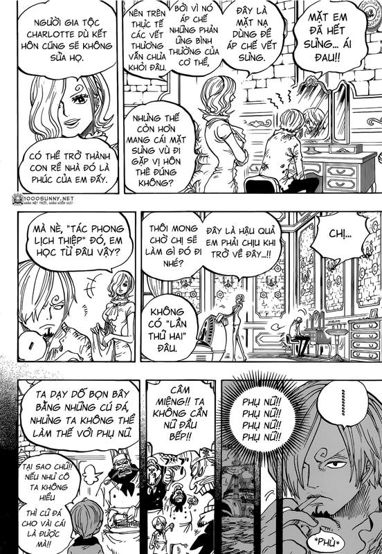 One Piece Chapter 842: Sức mạnh của cái dạ dày đã no! Image