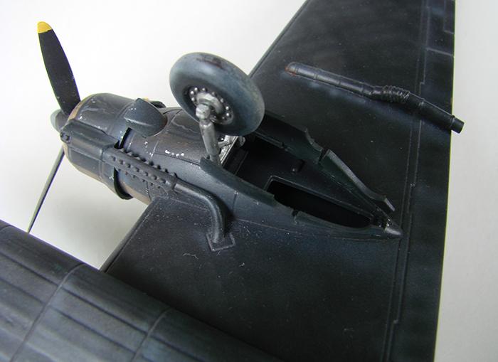 Vickers Wellington Mk.X, Revell, 1/72 DSC04686