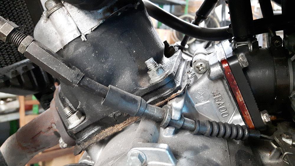 Yamaha TZR80RR al rescate Cilindro