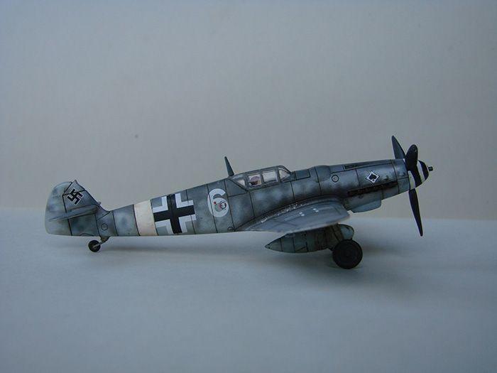 Messerschmitt Bf-109G-6, Airfix, 1/72 DSC05048