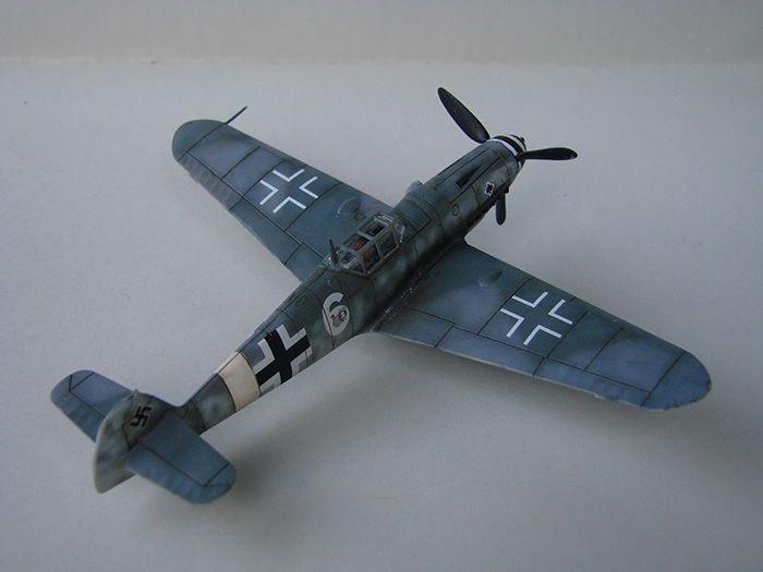 Messerschmitt Bf-109G-6, Airfix, 1/72 DSC05049