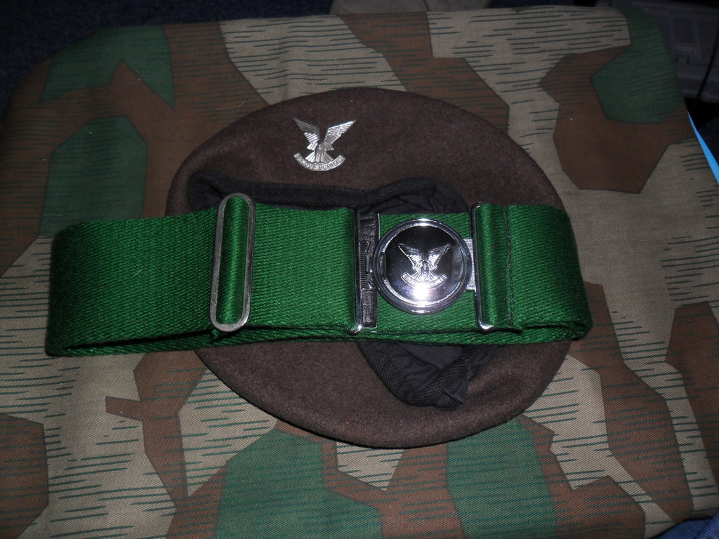 Rhodesian Belts and Berets Selous_Scouts