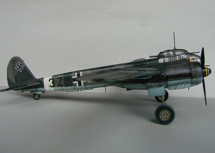 Junkers Ju-88A-4, Italeri, 1/72 DSC04690