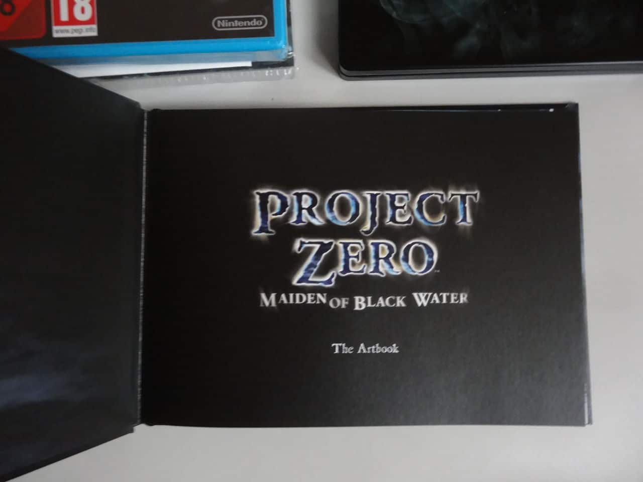 Project Zero Collector Wii U DSC02392