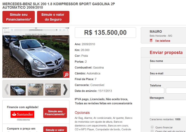 R171 SLK200 2010 - R$ 125.900,00 (VENDIDA) Screenshot_81