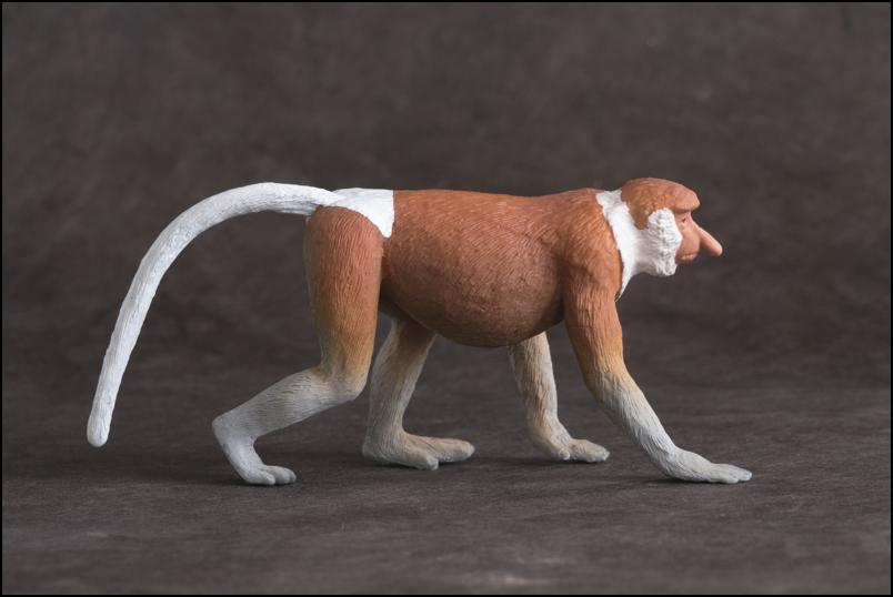 The MOJÖ FUN Proboscis monkey: A walkaround by Kikimalou Proboscismonkey_MOJO-2.jpg_original