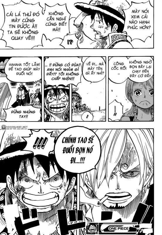 One Piece Chapter 843: Vinsmoke Sanji 018