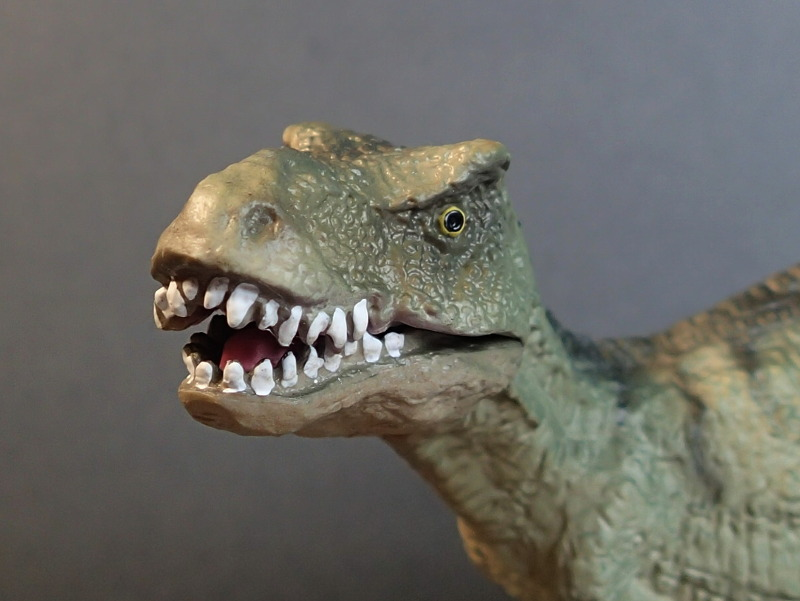Two new medium sized Bullyland  Museum Line models 2016 : T-Rex and Liopleurodon, walk arounds Bully61448_Mouth_Closed_zpsmo9nhsms