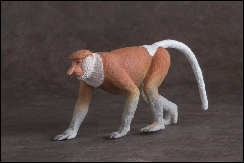 The MOJÖ FUN Proboscis monkey: A walkaround by Kikimalou Proboscismonkey_MOJO-9.jpg_original