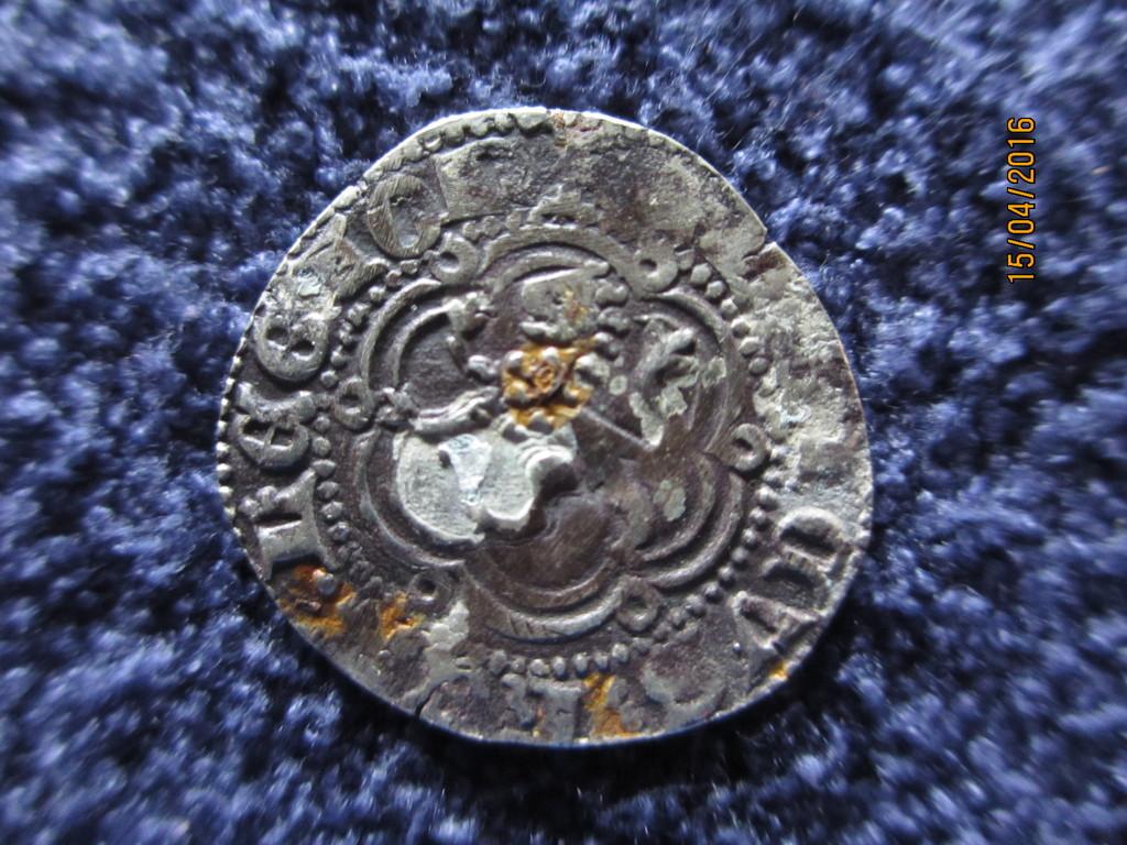 Blanca de Enrique III de Castilla 1390-1406 Sevilla. IMG_0222