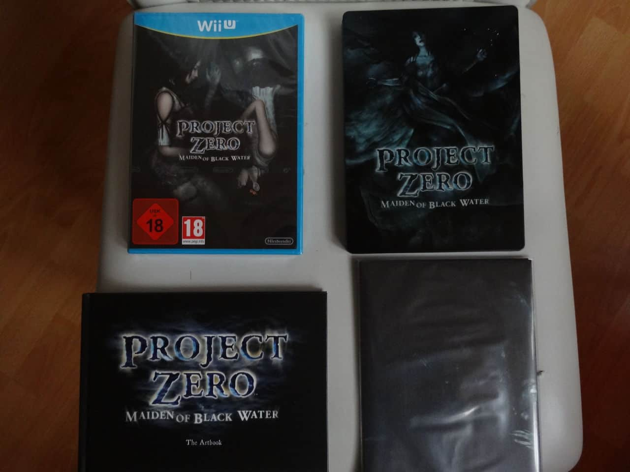 Project Zero Collector Wii U DSC02384