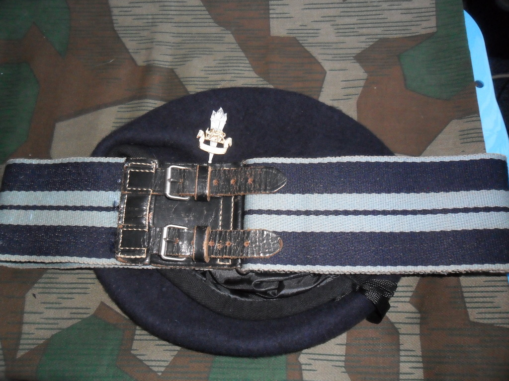 Rhodesian Belts and Berets Education_Corps_Or
