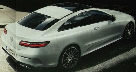 Nova Classe E Coupé 2018 é revelada Mercedes_e_7111