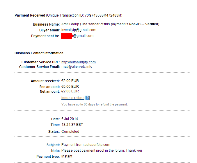 My first payment Wyp_ata_autosurf