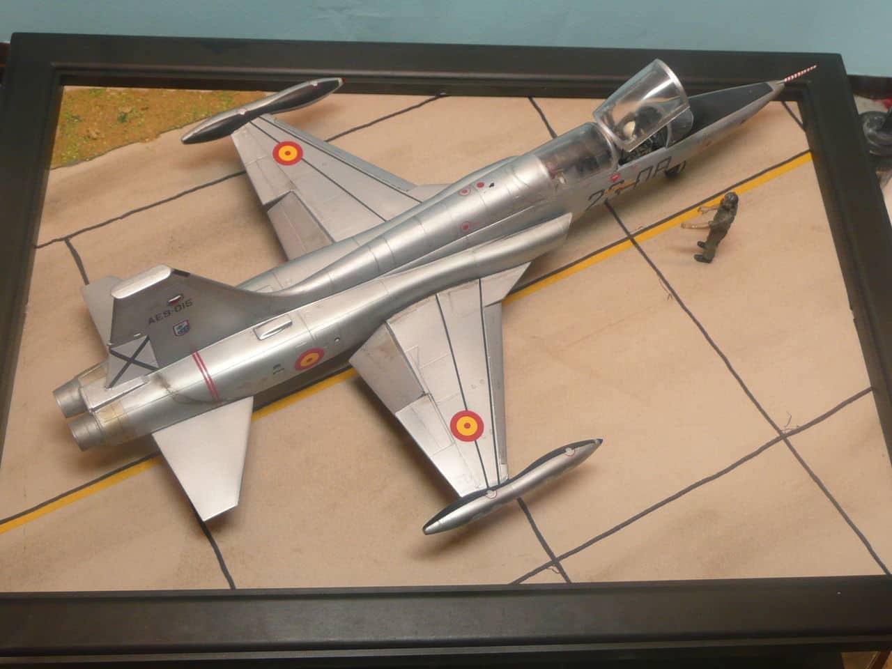 Northrop F-5B 1/48 Classic Airframes P1080105