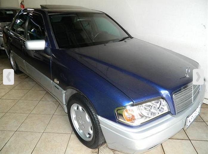 W202 C180 1998 - R$ 35.000,00 C180a