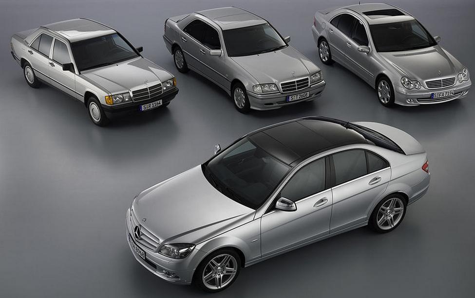 Mercedes comemora 8 milhões de Classe C e 190 Screenshot_2374
