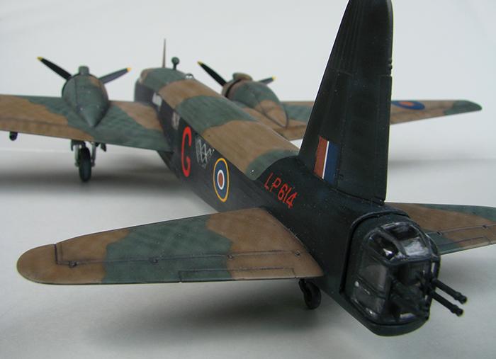 Vickers Wellington Mk.X, Revell, 1/72 DSC04679