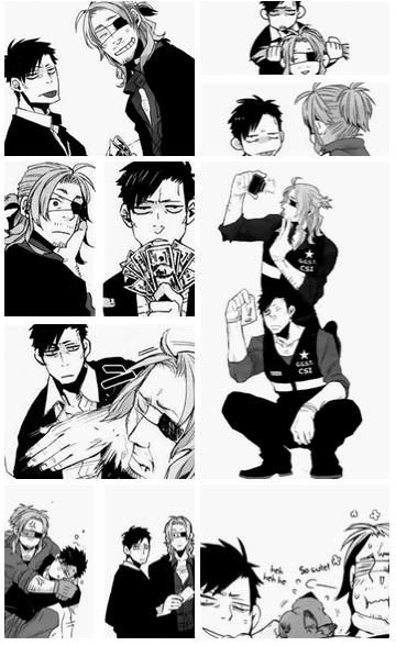 GANGSTA. Manga Dorks_x_D