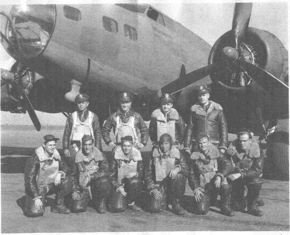 Do Božića B-17G, Academy, 1/72 Moffitt_Crew