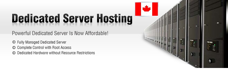 Wide Range of Dedicated Servers at Very Low Price • Location Canada Canadian_Dedicated_Servers