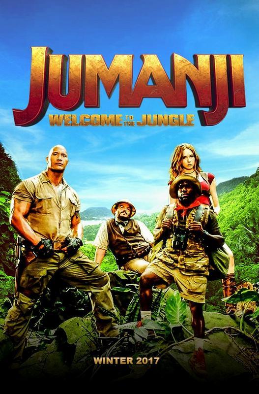 "Dwayne ""The Rock"" Johnson - Página 3 Jumanji_2_welcome_to_the_jungle_2017_by_edaba7"