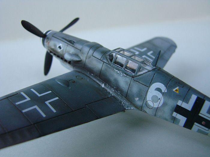 Messerschmitt Bf-109G-6, Airfix, 1/72 DSC05055