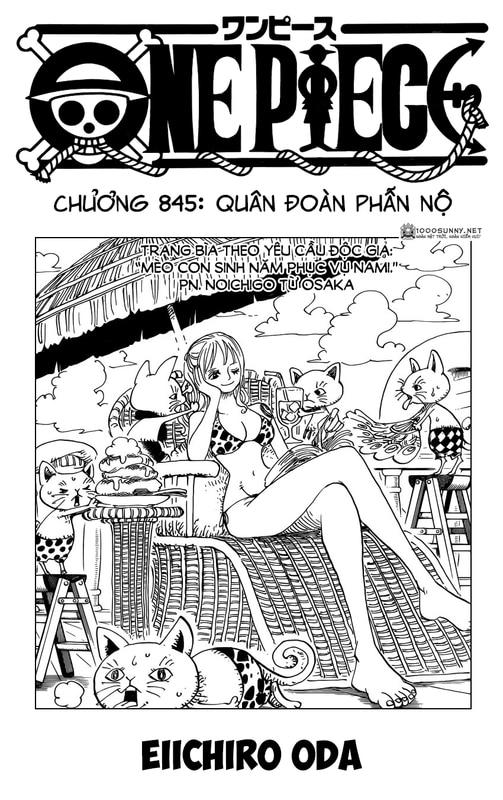 One Piece Chapter 845: Quân đoàn phẫn nộ Image