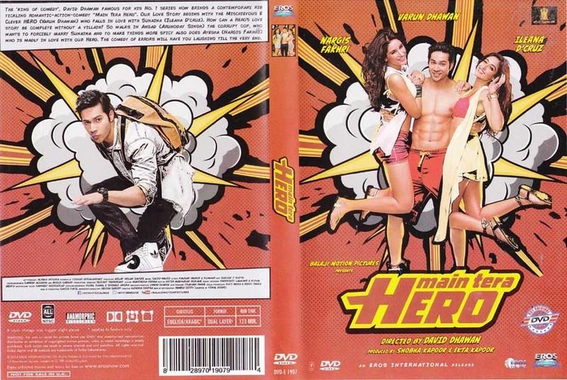 MAIN TERA HERO (2014) con VARUN DHAWAN + Vídeos Musicales + Jukebox + Sub. Español  1400717993_Main_Tera_Hero_Hindi_DVD
