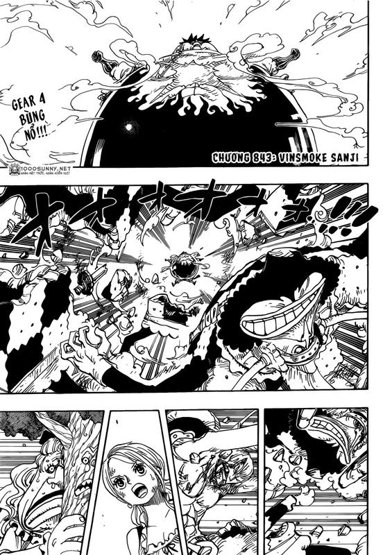 One Piece Chapter 843: Vinsmoke Sanji Image