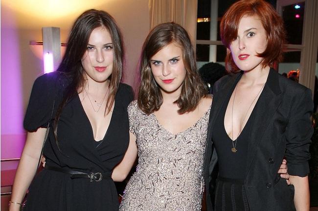 ¿Cual de las hijas de los héroes de acción es de explosiva belleza? Willis_sisters
