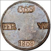 30 SOUS 1808 - 30 SOUS 1808 FERNANDO VII   Image
