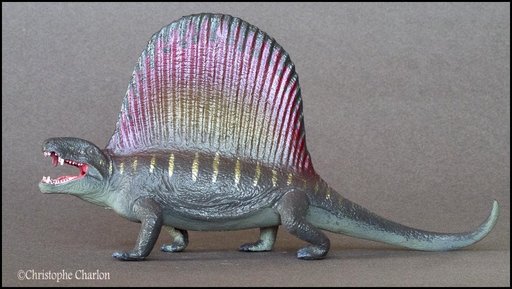Favorite Prehistoric Life Softmodel Dimetrodon: A walkaround by Kikimalou Kinto_Favorite_Dimetrodon_6